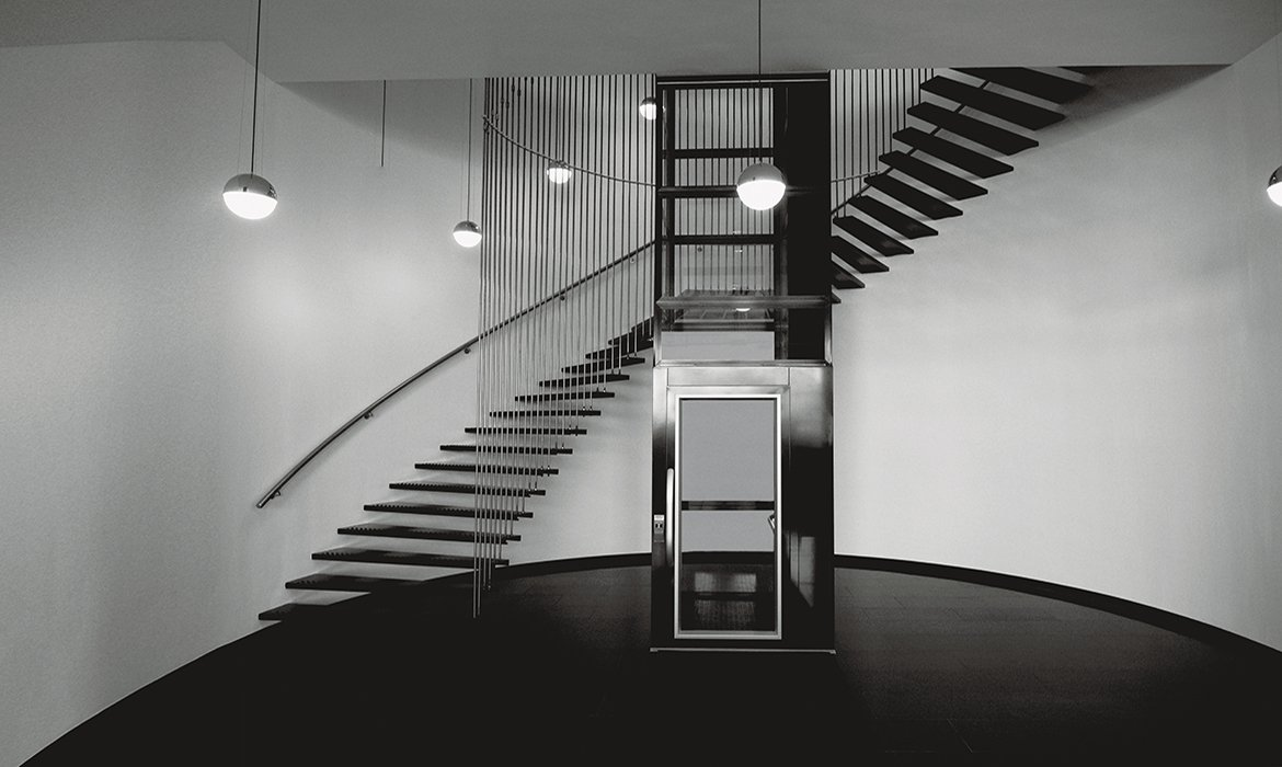 Platform lifts for alla staircases