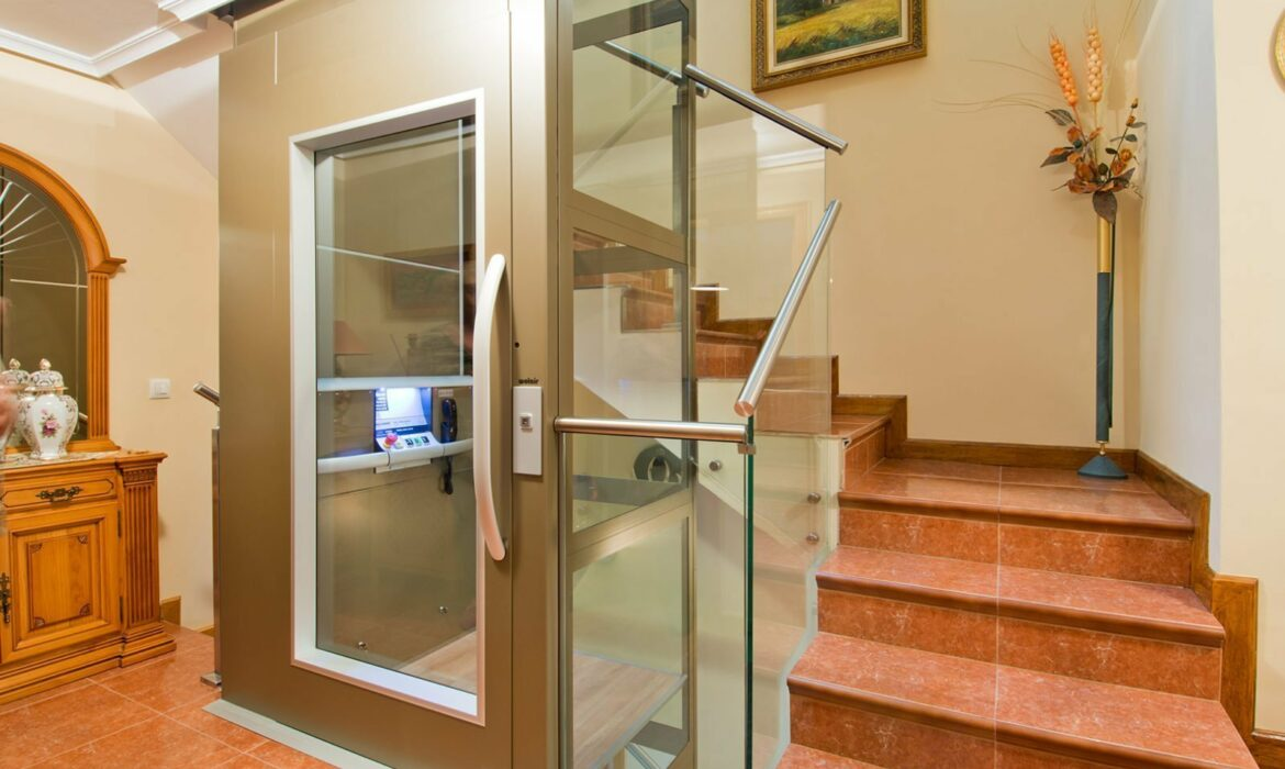 Residential Lift in villa Spain