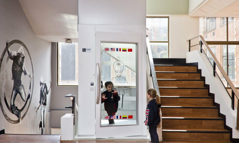 Platform Lift in School
