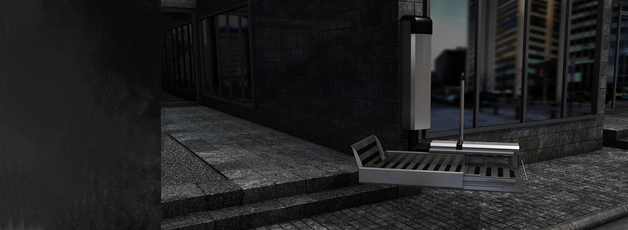 Street-smart stairlift