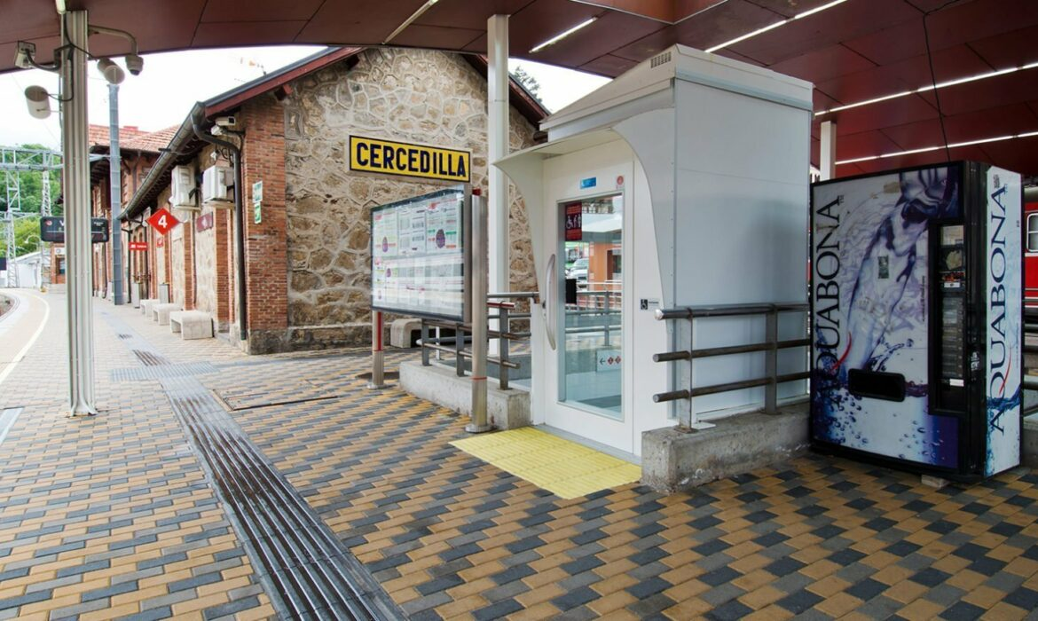 Train station lift, Cercedilla Spain