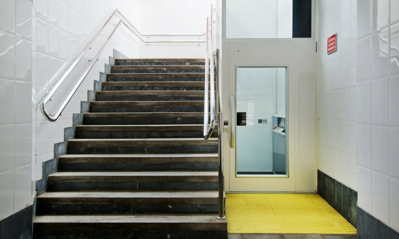 Cercedilla Train Station disabled lift