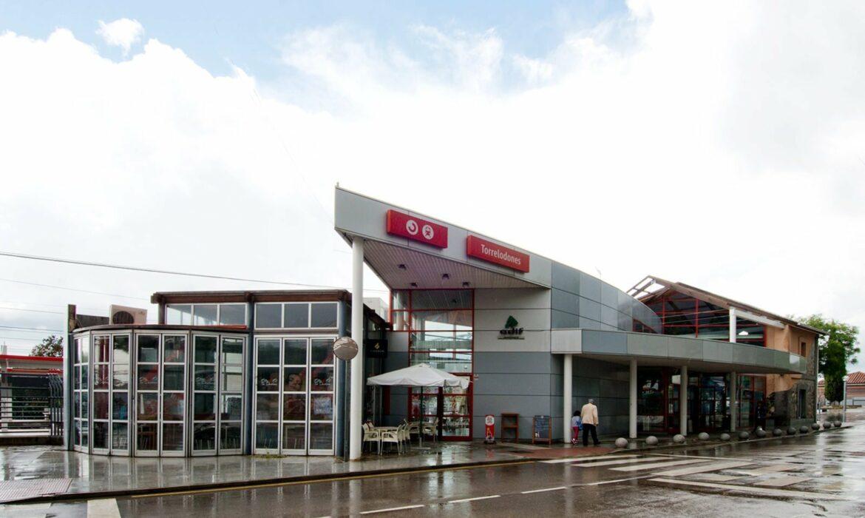 Torrelodone Train station Spain