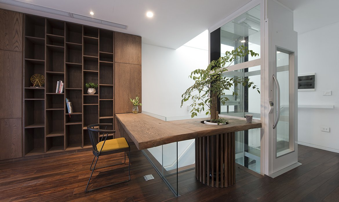 Residential Lift in private office