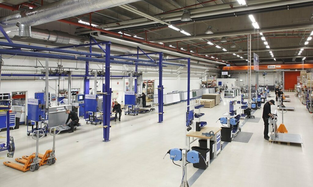 Cibes factory, Sweden