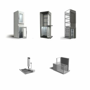Different kinds of wheelchair lifts