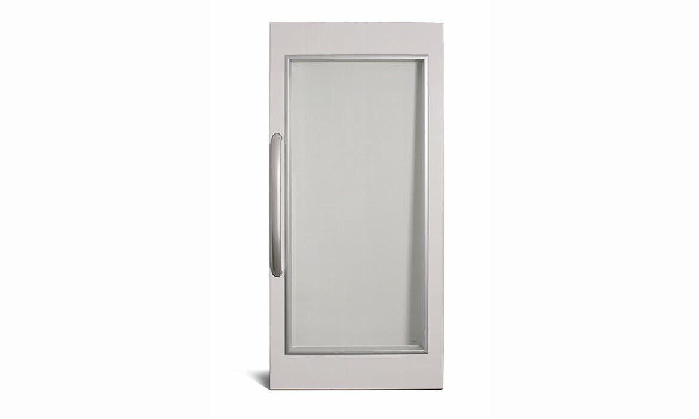 A20 lift door in steel