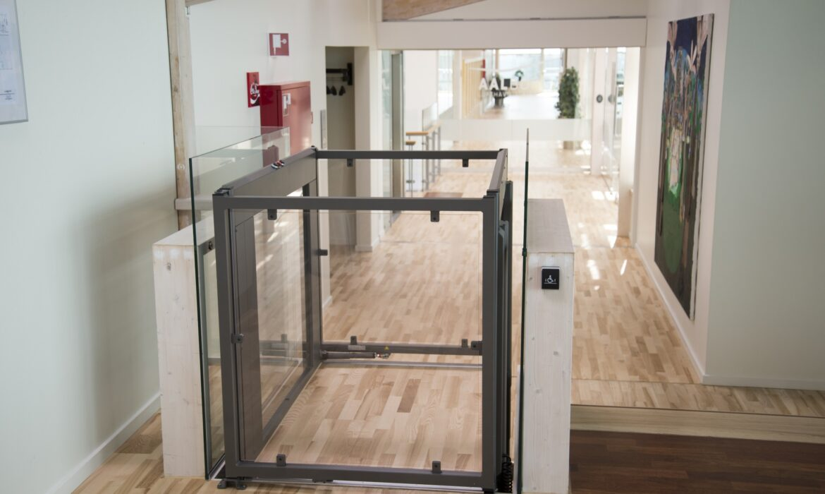 Wheelchair accessible lift