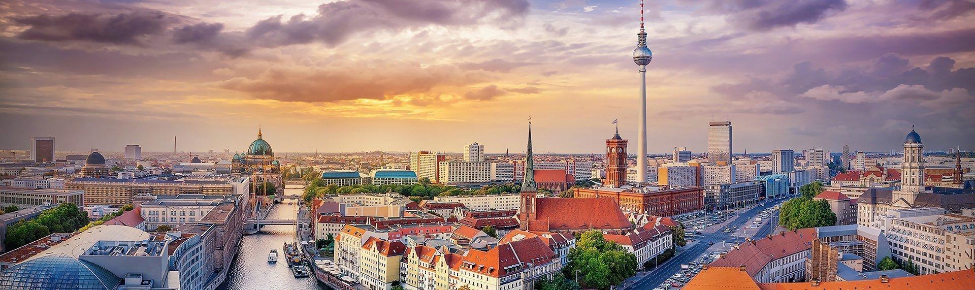 Photo of Berlin skyline