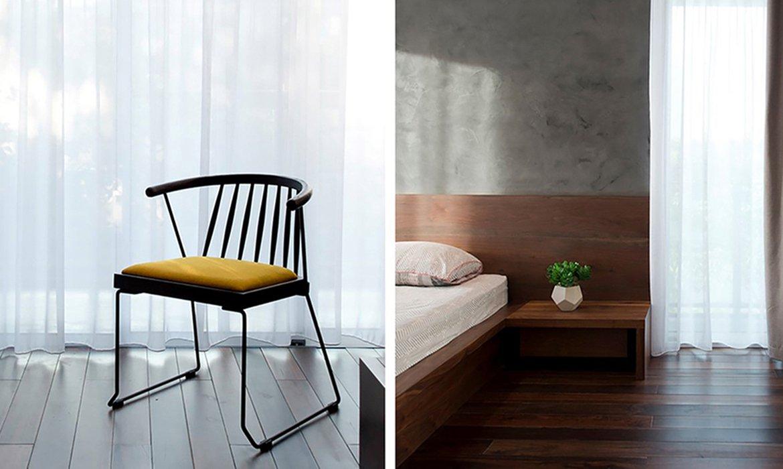 Interior design with colour