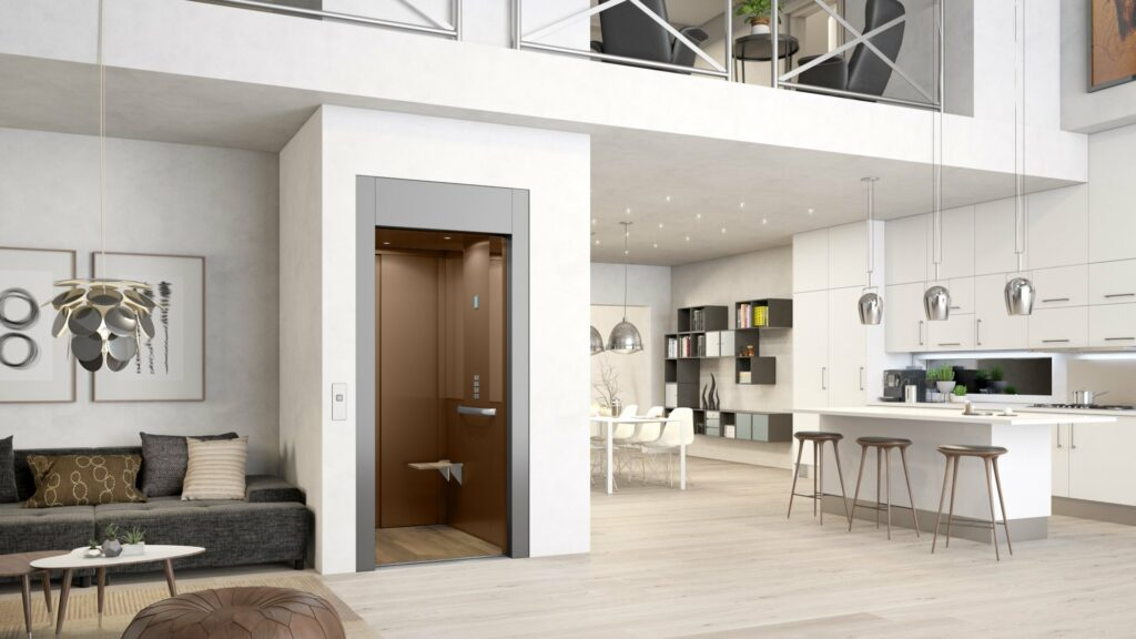 Cabin lift in home