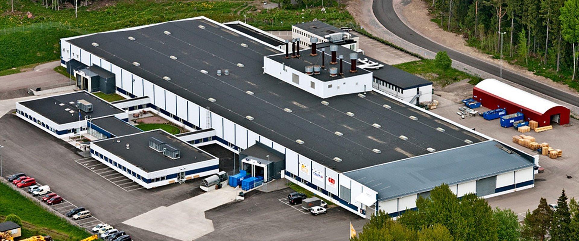cibes factory aerial shot