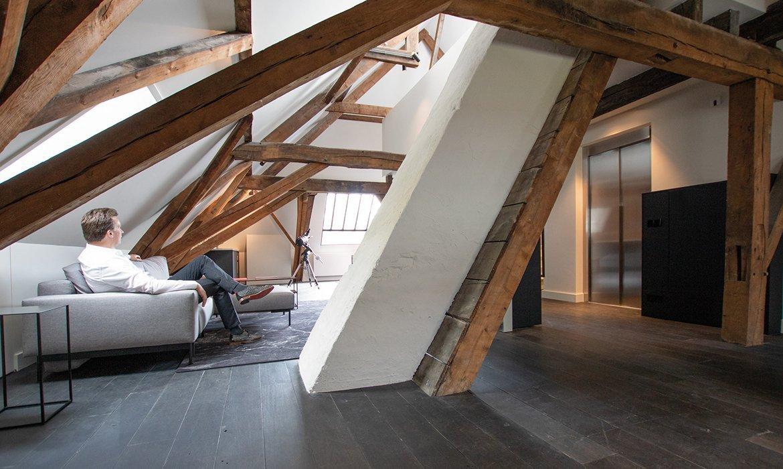 Industrial chic loft apartment