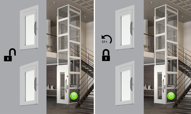 School locking for lifts