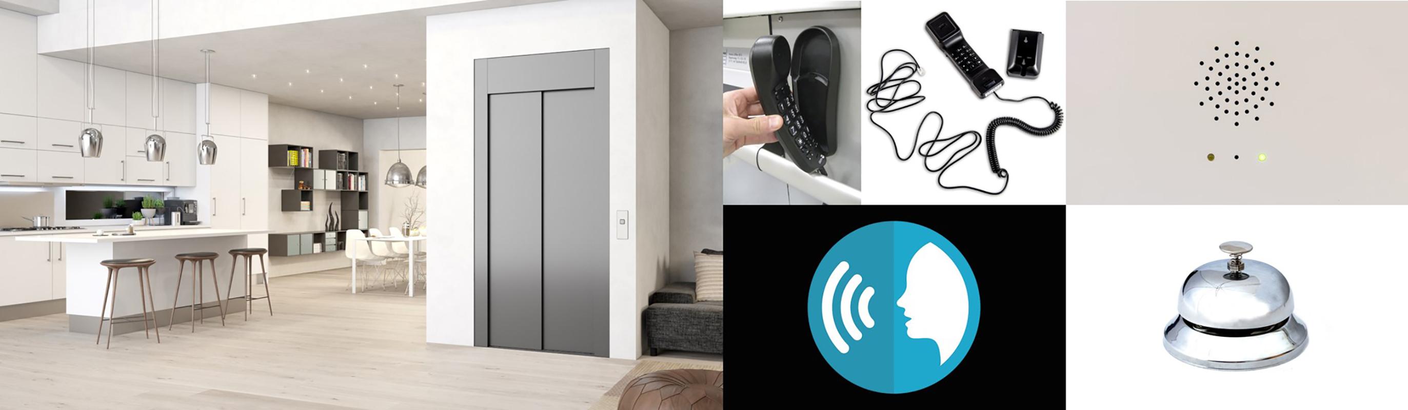 Système de communication pour cabines élévatrices