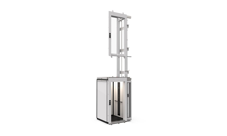 Domestic lift for site-built shaft C1 Pure cabin lift