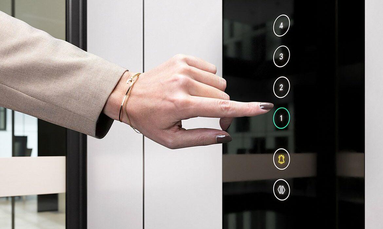 Touchscreen lift controls
