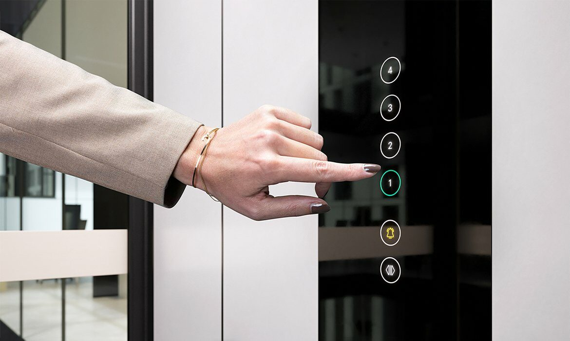 Touchscreen lift controls