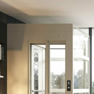 Domestic lift with 2500 mm top height