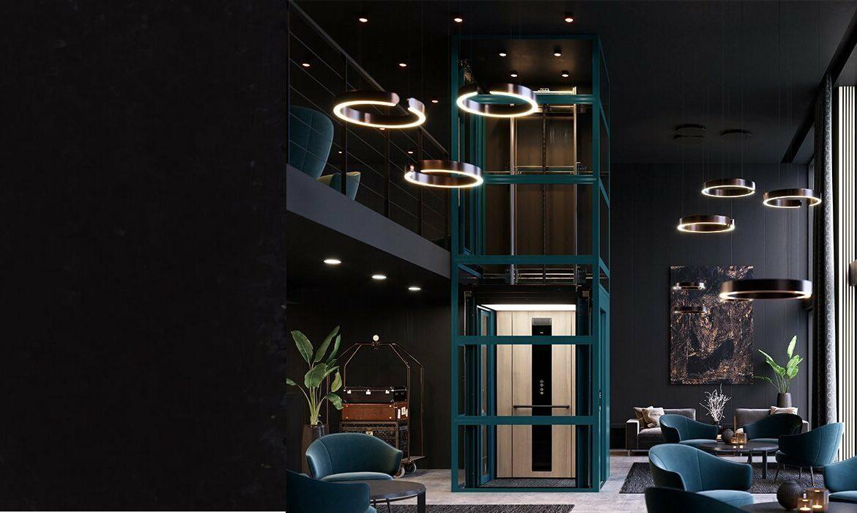 Space-saving lift concept