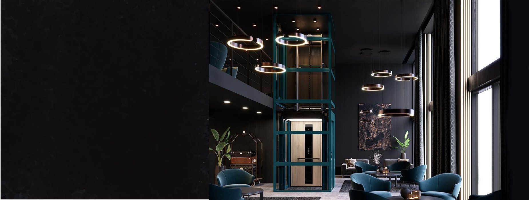 Diseño de ascensor personalizable