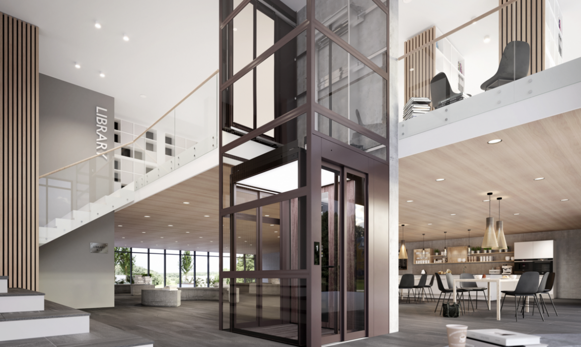 Cibes C1 Pure Cabin Lift School lifts for architects