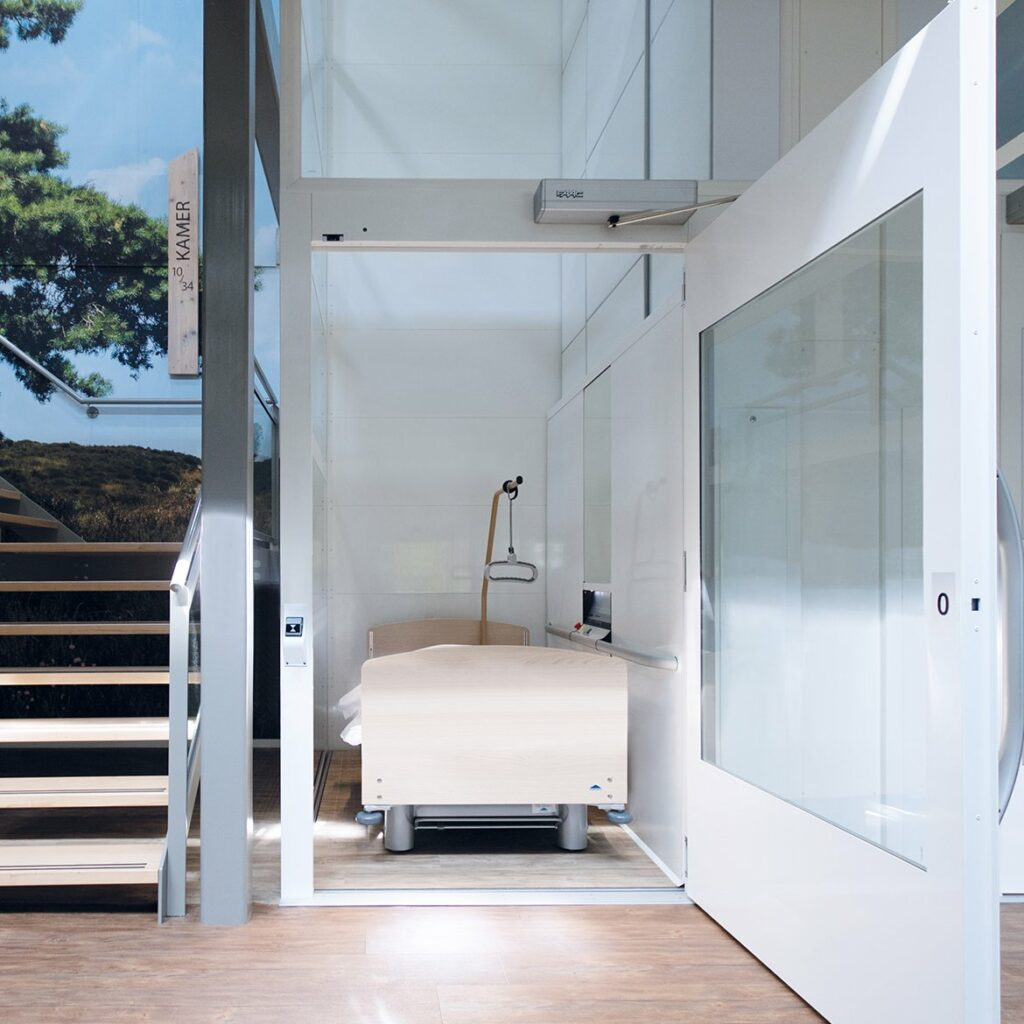 Platform lift in carehome