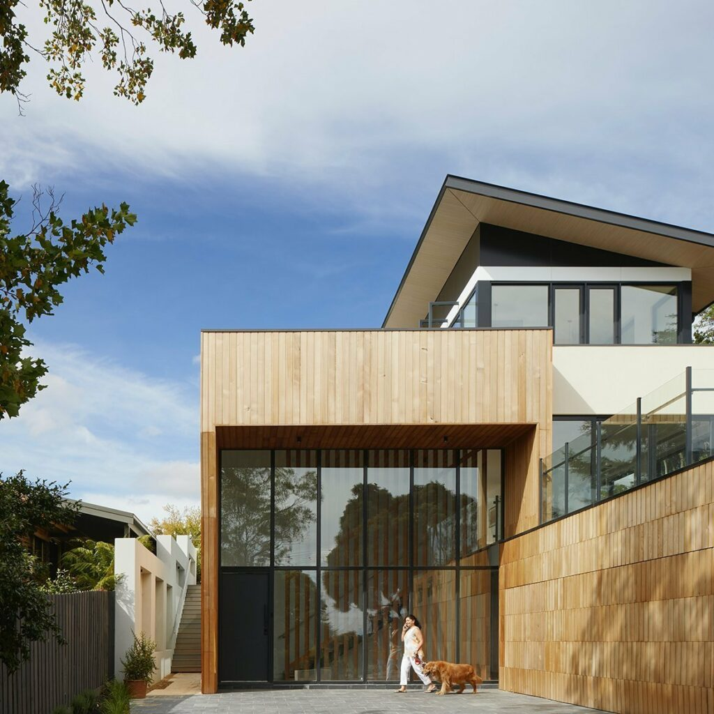 Modern home in Melbourne