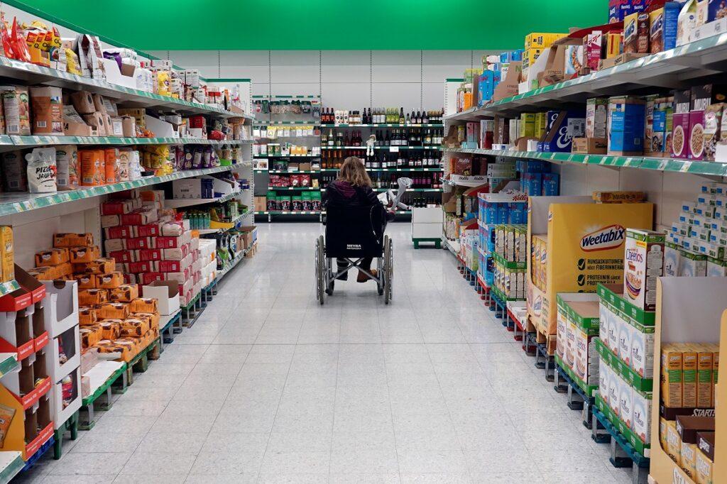 Wheelchair In Shop