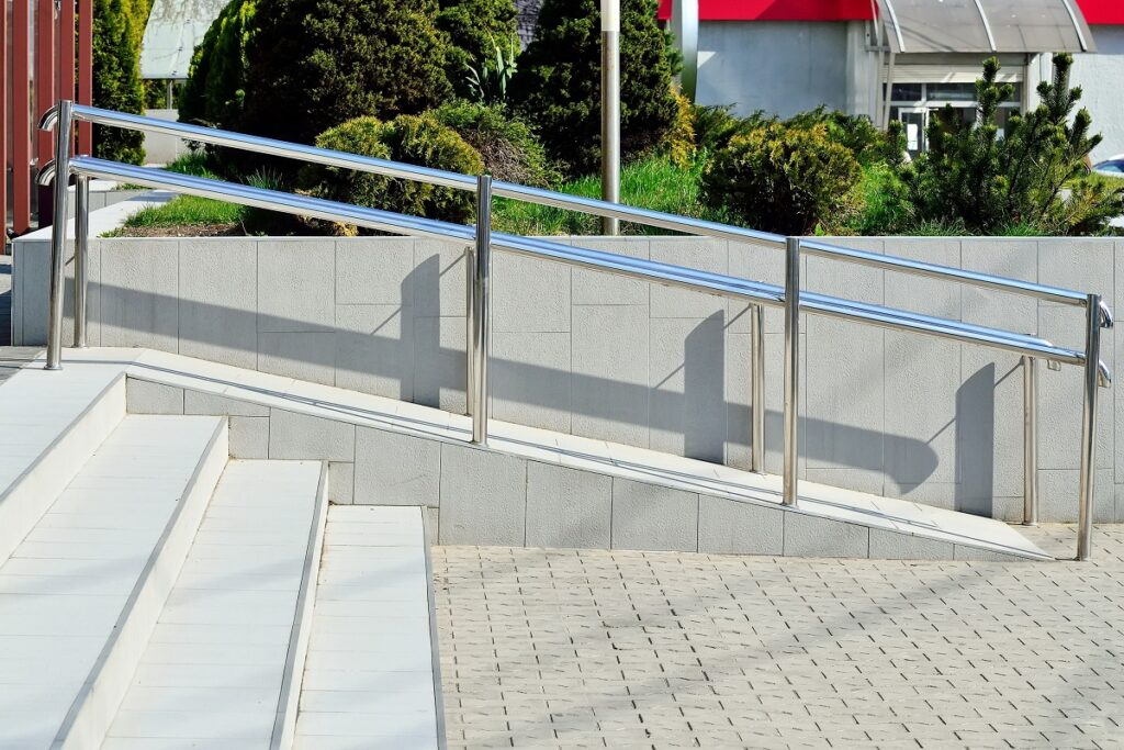 Wheelchair Ramp For Office