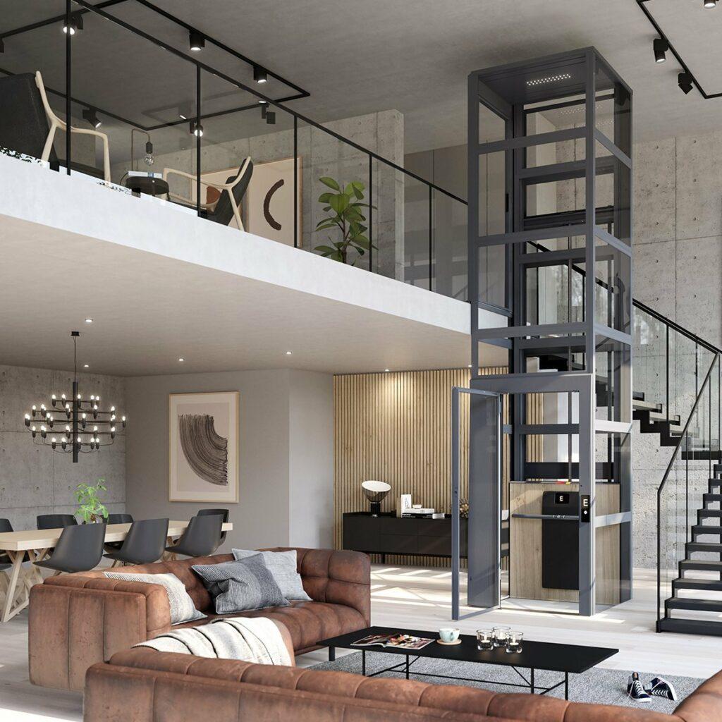 Cibes Air in loft apartment
