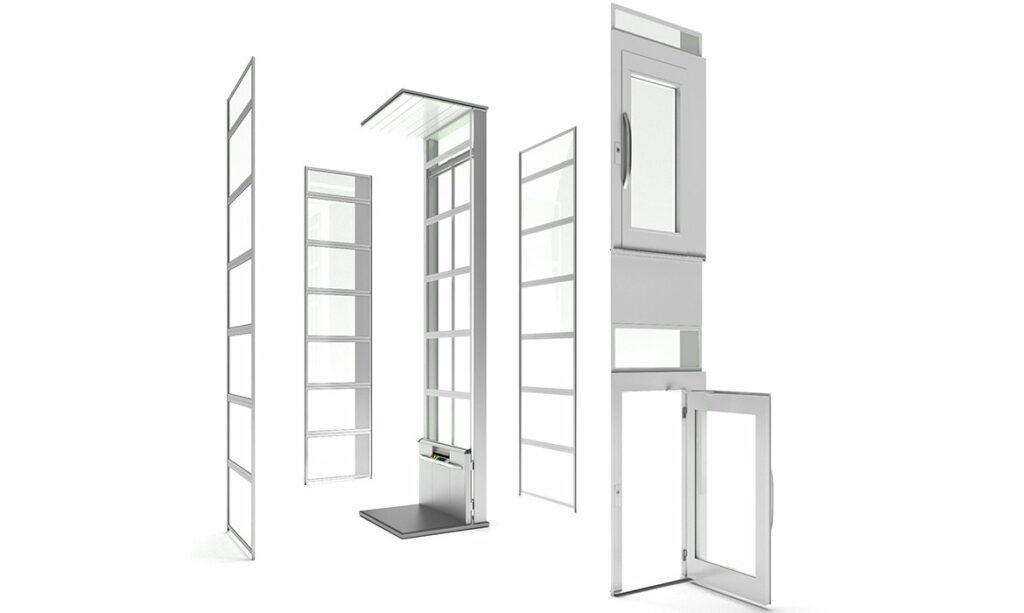 Cibes home lifts modular concept