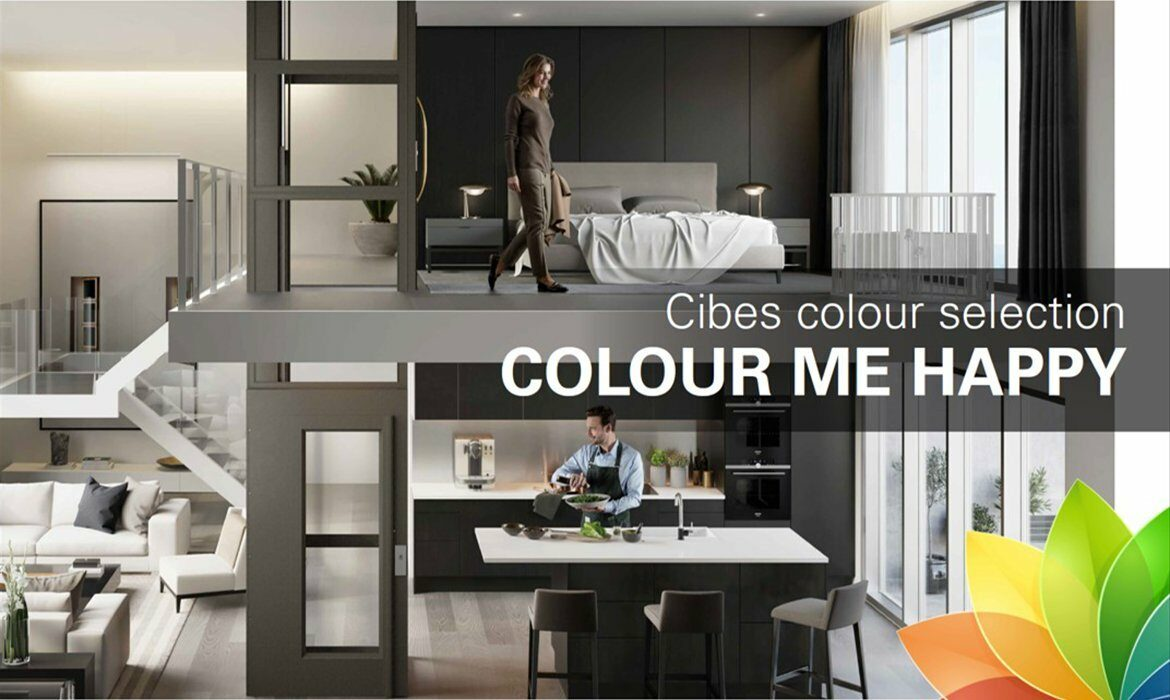 Design your lift with colour