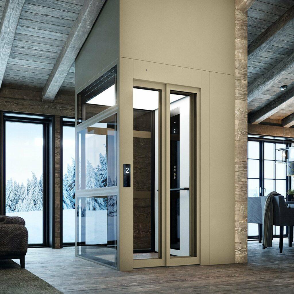 Domestic cabin lift