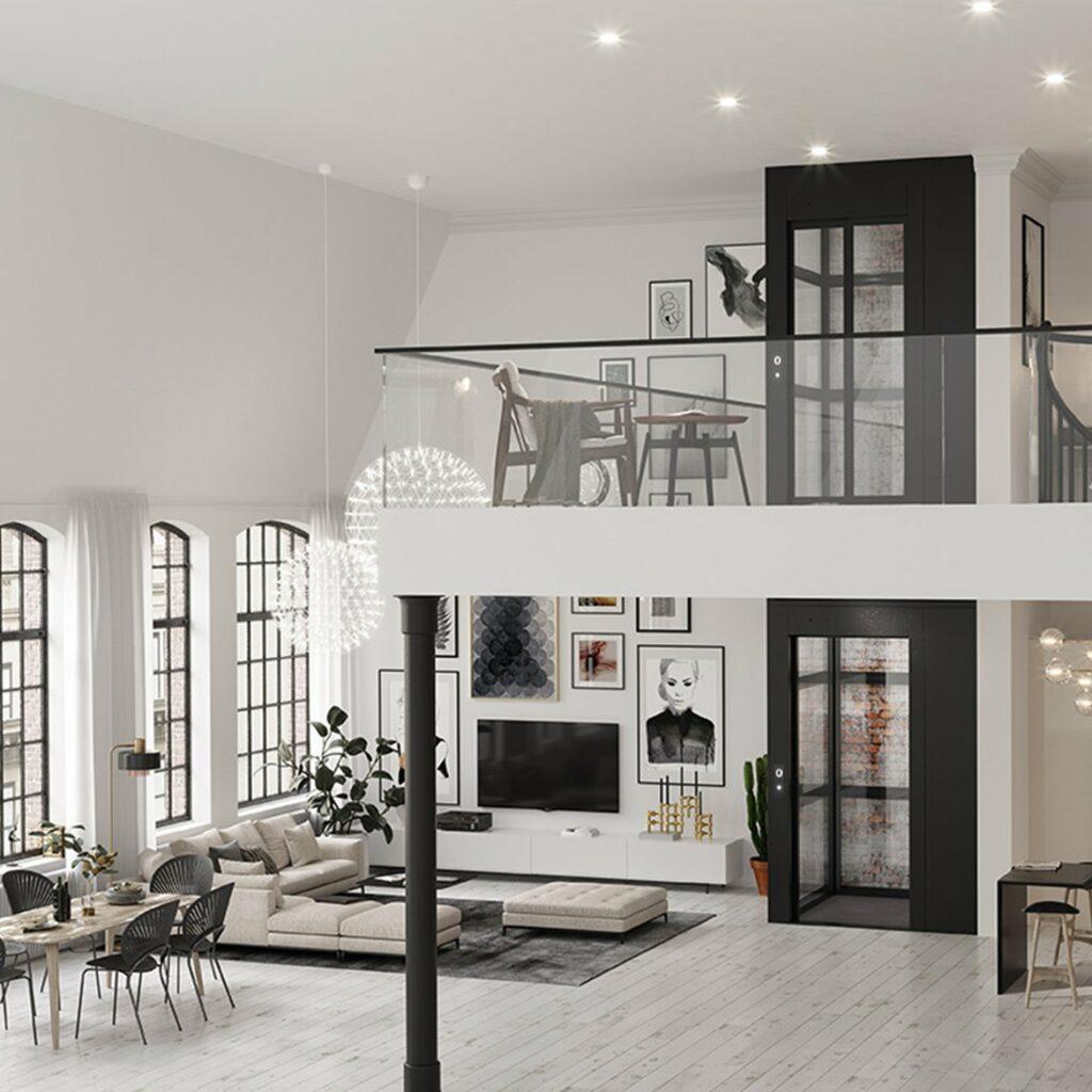 Residential cabin lift