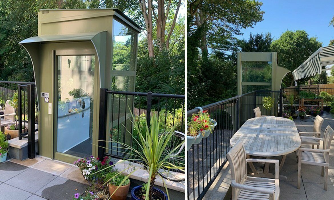 Platform lift for your garden
