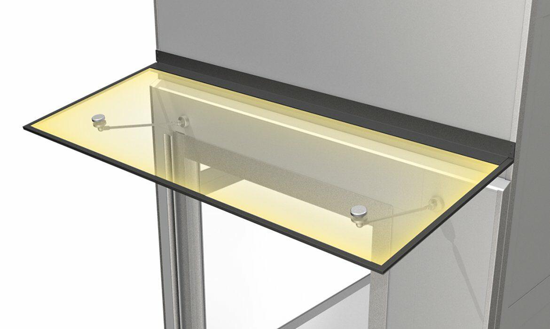 LED lit canopy