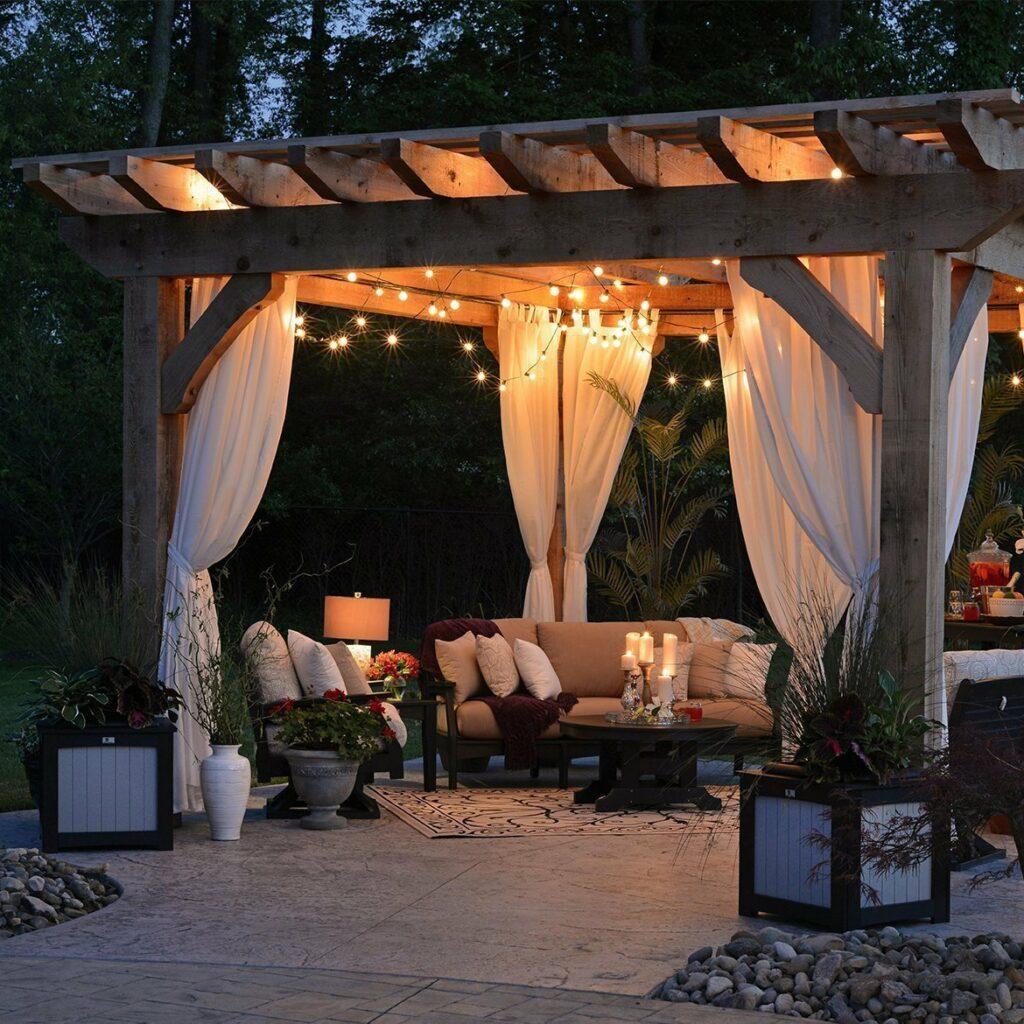Enjoy outdoor living