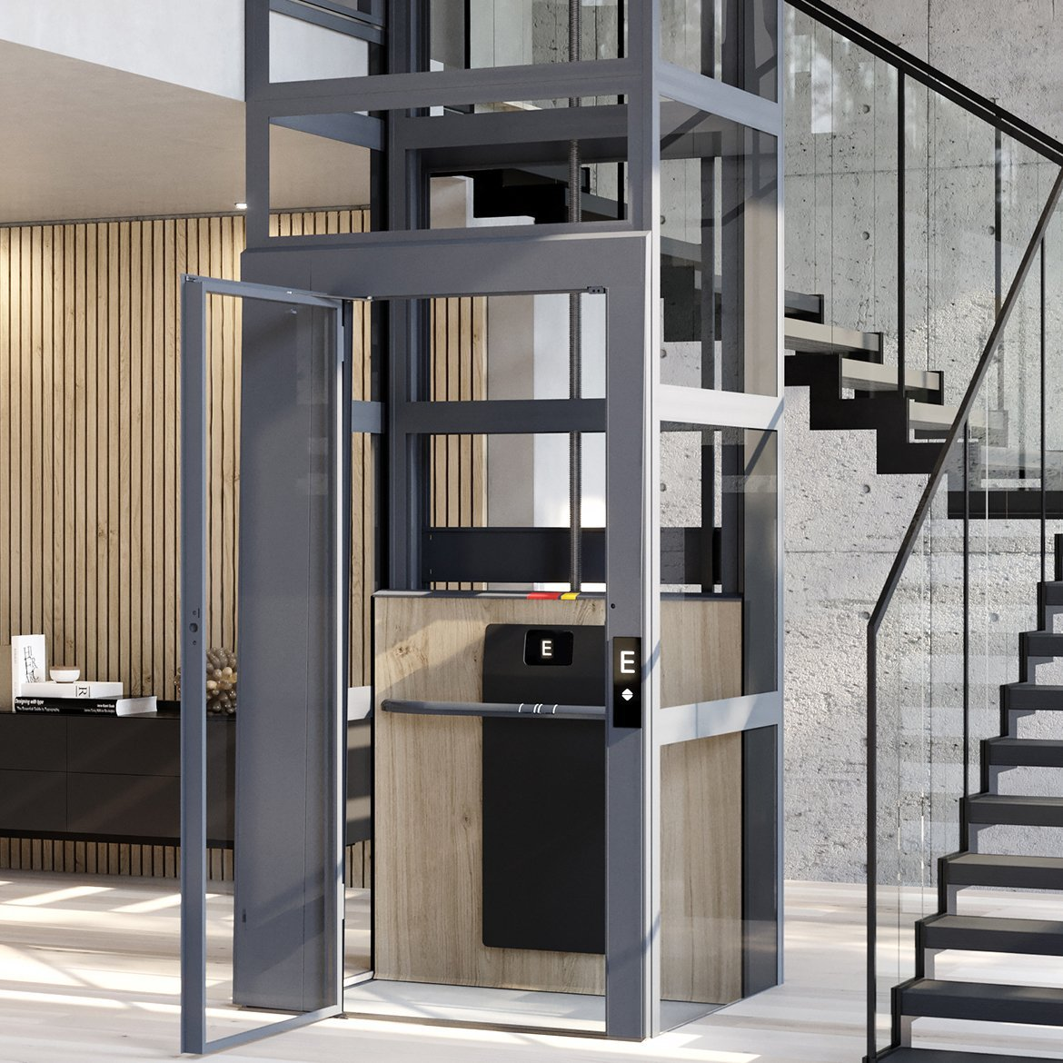 Lift modernisation by Cibes