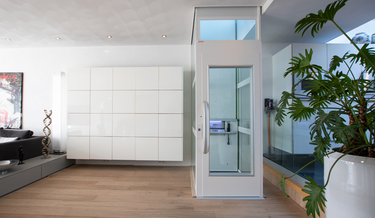 Lift In Huis : Woonhuis groningen aesy liften
