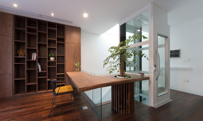 Huislift A-4000, eenvoudig in elk huis te installeren
