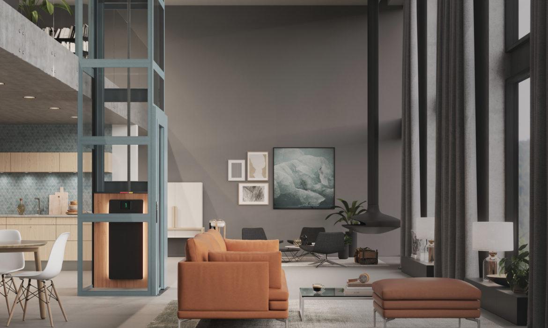 Duurzame, elegante huislift