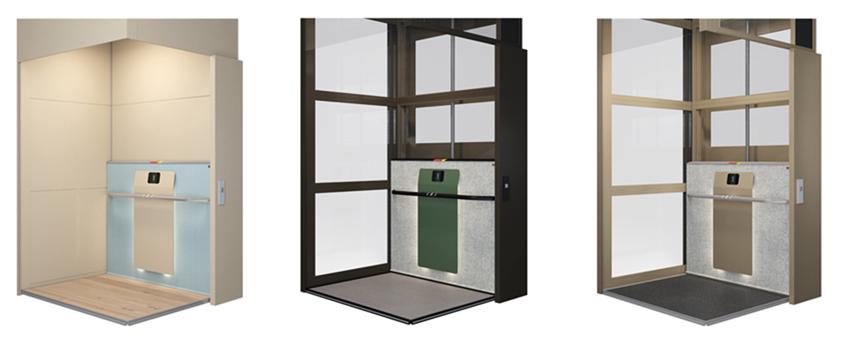 Huislift met uniek design