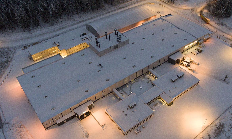Lift factory in Sweden