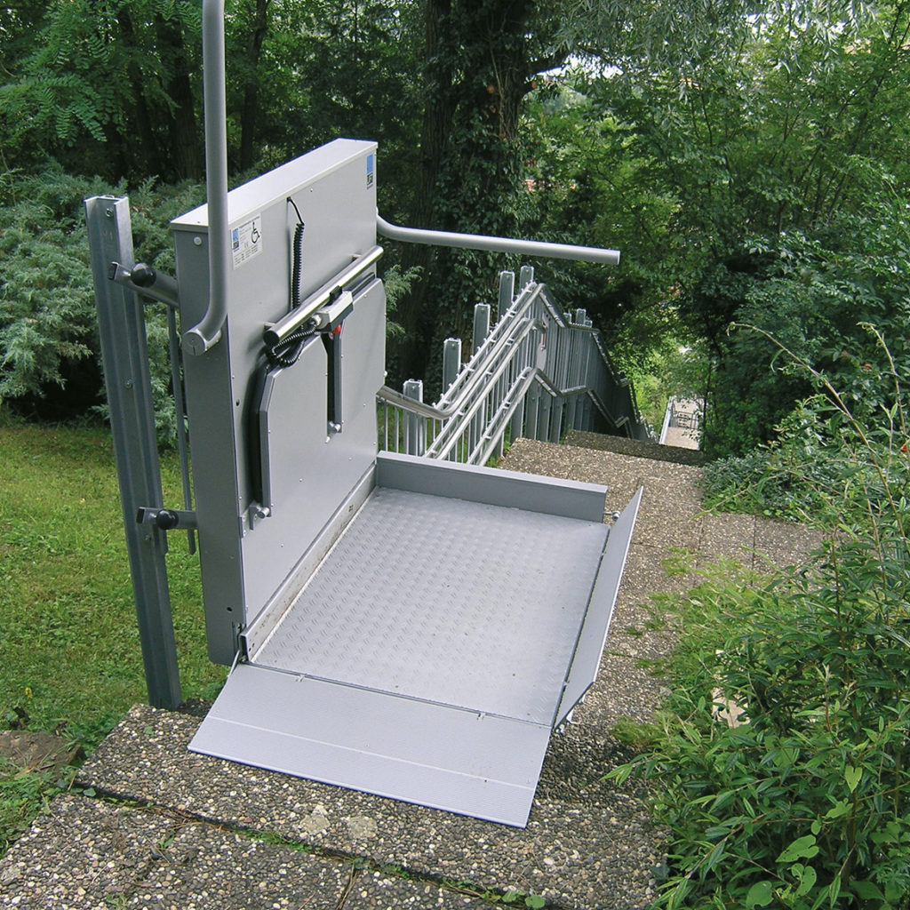 Trapphiss Kalea 320 kan installeras utomhus