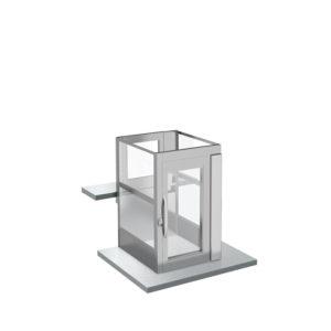 Enklare hiss för mezzanin