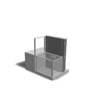 Enklaste hissen för mezzanin