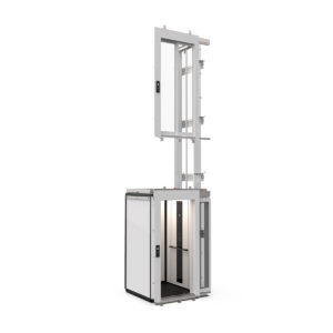 Cabin lift without modular shaft