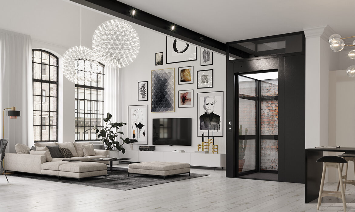 Beautiful loft apartment with private elevator
