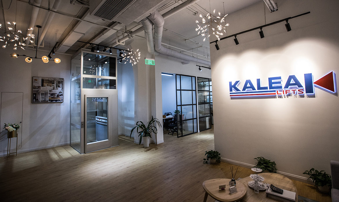 Kalea Lifts showroom in Asia